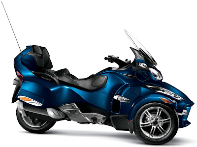 2011 Can-Am Spyder RT-S Orbital Blue Metallic