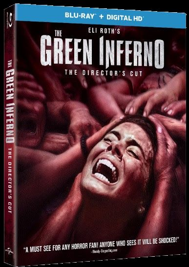 The Green Inferno Blu-ray cover