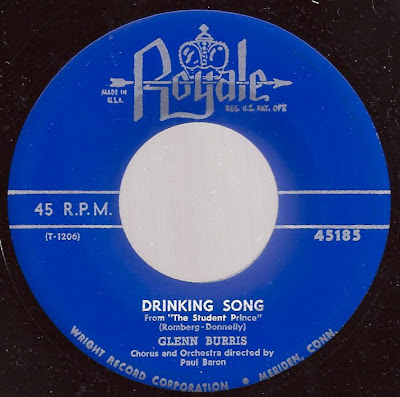 Glenn Burris - Drinking Song