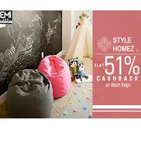 Flipkart : Buy Filled Bean Bags Upto 75% off, Starting from Rs. 799 only – BuyToEarn