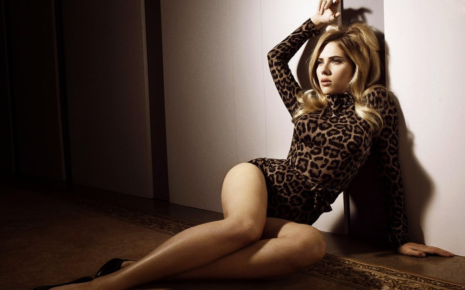 Scarlett Johansson in Photoshoot Wallpaper Free Download