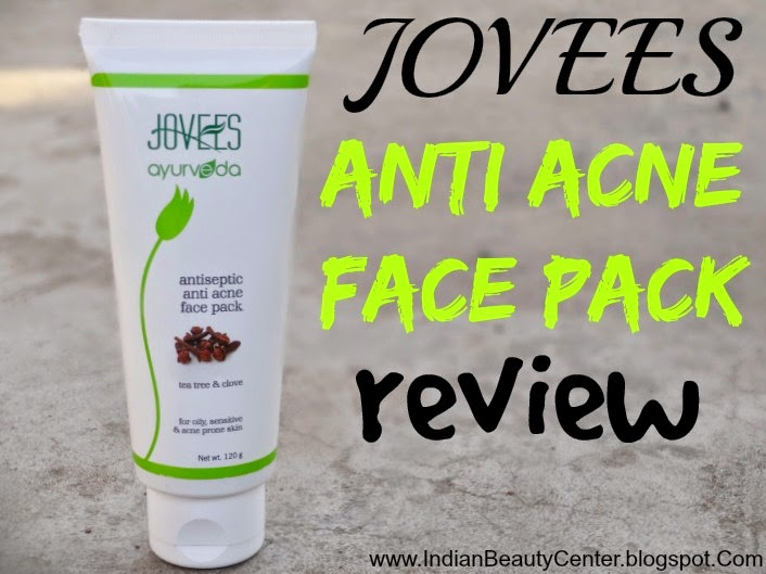 Jovees Anti Acne Antiseptic Face Pack Review