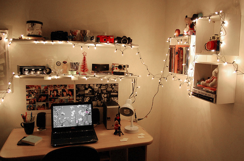 Decorating bedroom with christmas lights - Rosa Chiclete Andressa Moraes Inspira 231 245 Es Para Decora 231 227 O De