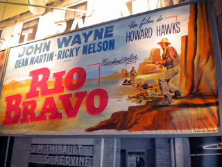 Cartel de 'Rio Bravo' (Howard Hawks, 1959) por André Azaïs.