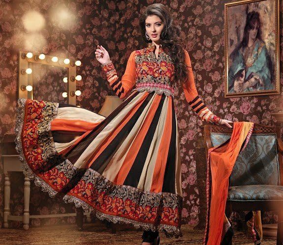 Anarkali suits for party