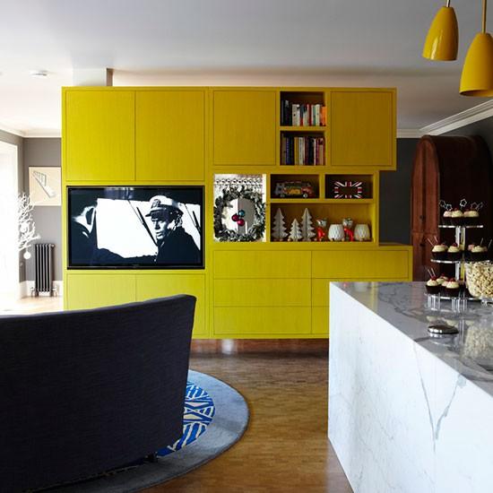 Dora dekorasjon: tøffe kjøkken med spisestue løsninger