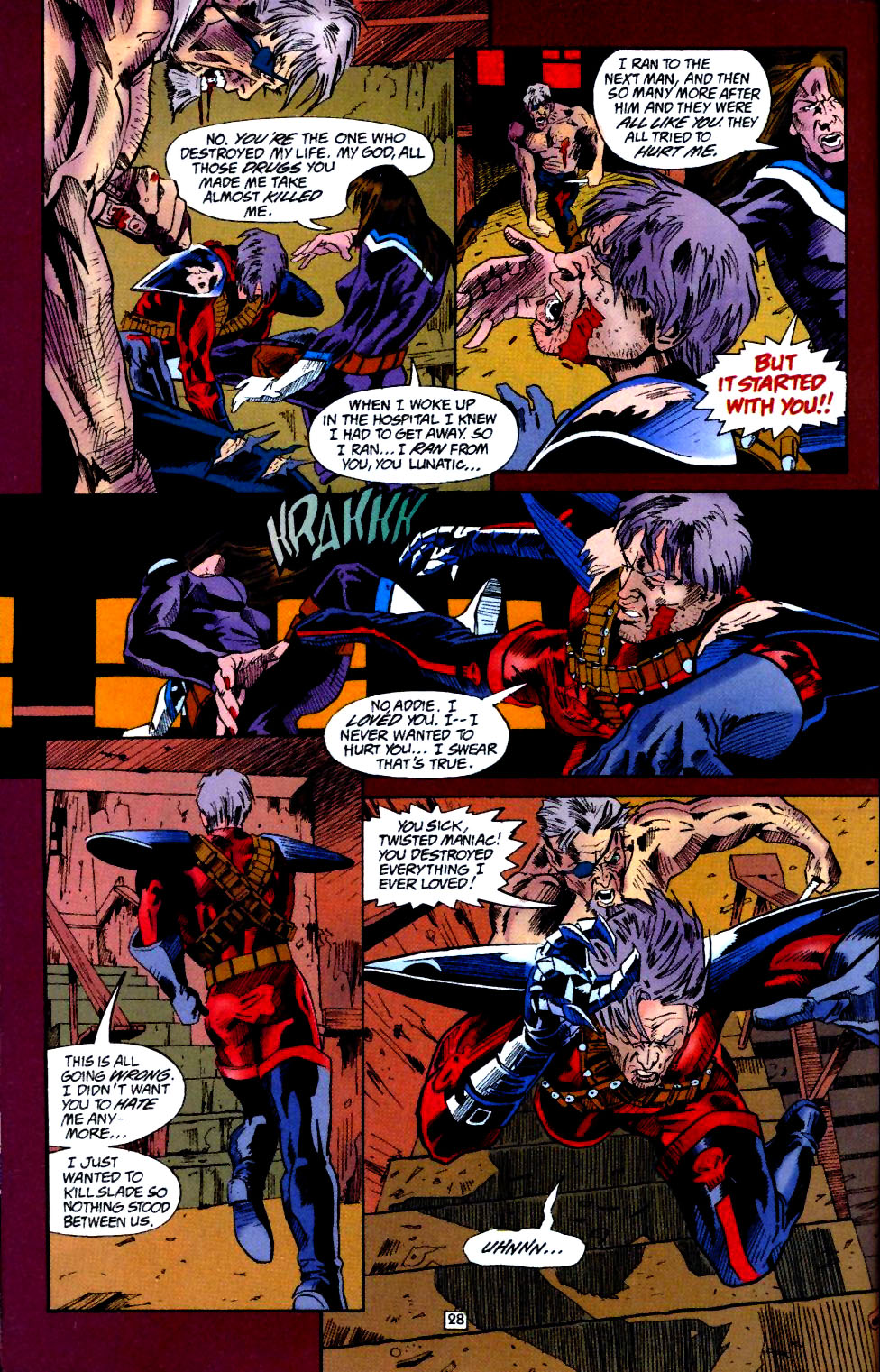 Deathstroke (1991) Annual 4 #4 - English 29
