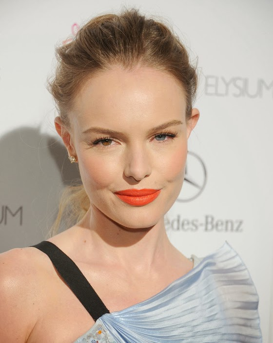 Make Up Trend: Orange lips - lipstick / Labios naranja - labial
