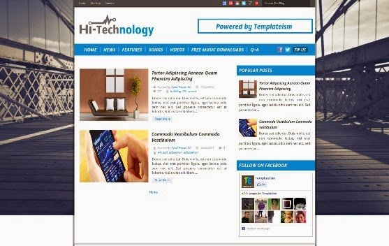 Hi-Tech Blogger Template