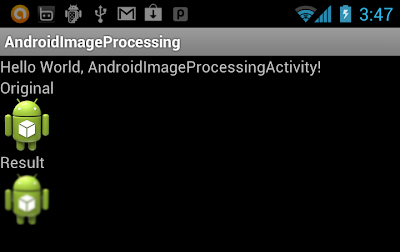 Apply Blur effect on Android, using Convolution Matrix
