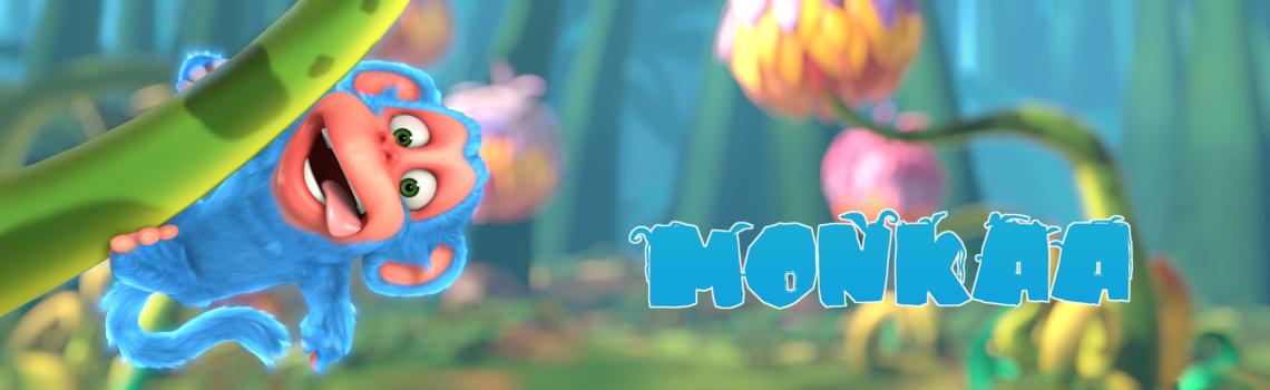 Monkaa, l'open movie realizzato con Blender e GIMP