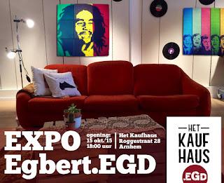 Vanaf 15/10 Expo.EGD in Het Kaufhaus in Arnhem