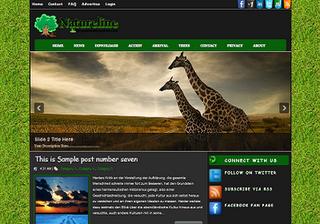 Natureline Blogger Template