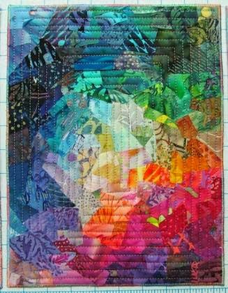 técnicas de blocos em patchwork