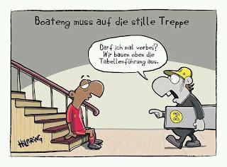 Boateng muss auf die stille Treppe. Dortmund baut die Tabellenführung aus