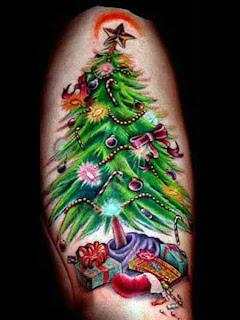 5 Tatuagens de Natal