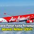 Senarai nama penumpang pesawat AirAsia QZ8501 didedahkan..