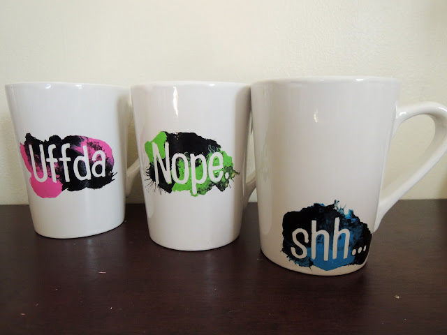 Rough Morning Hand Painted Mugs