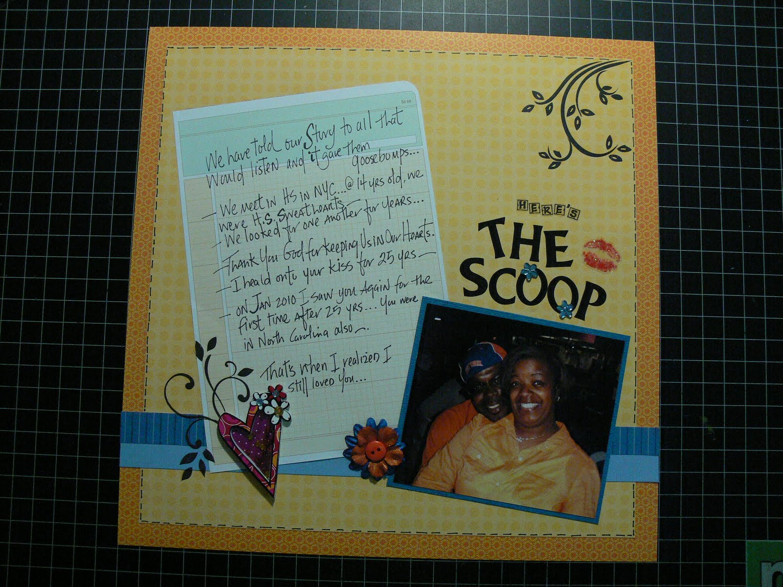 The Scrappin Ladybug Encoraging Scrapbook Layouts They Encouraged