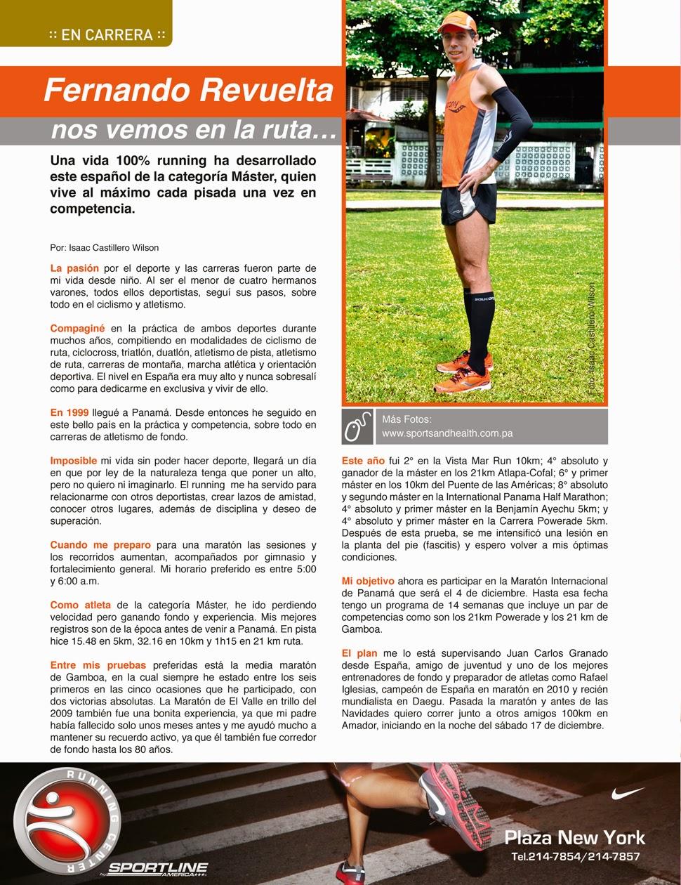 Entrevista correr Panama