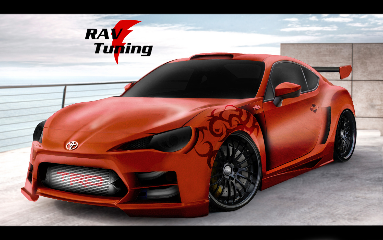 rav tuning widebody toyota gt 86. Black Bedroom Furniture Sets. Home Design Ideas