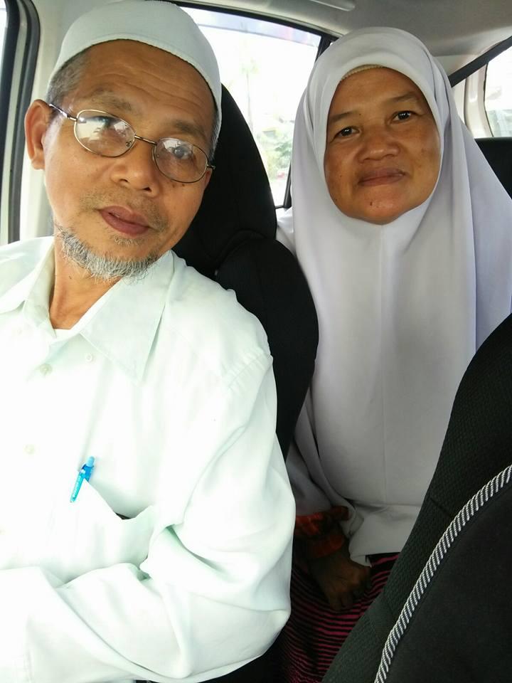 Mek dan abahku