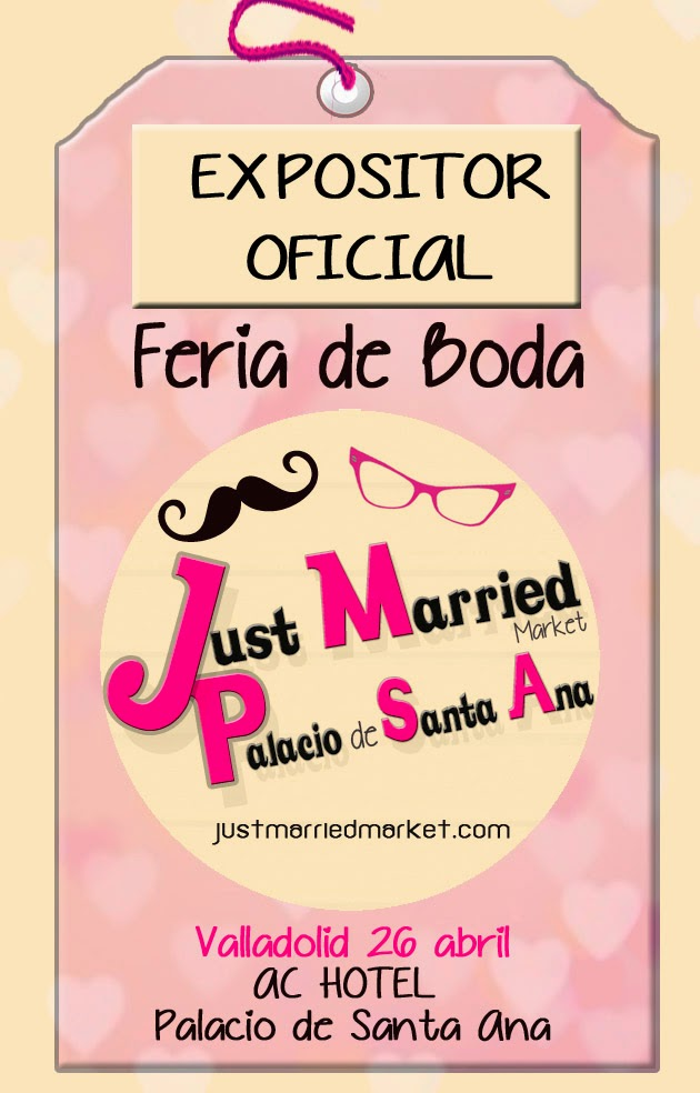 Logo expositor oficial Just Married Market