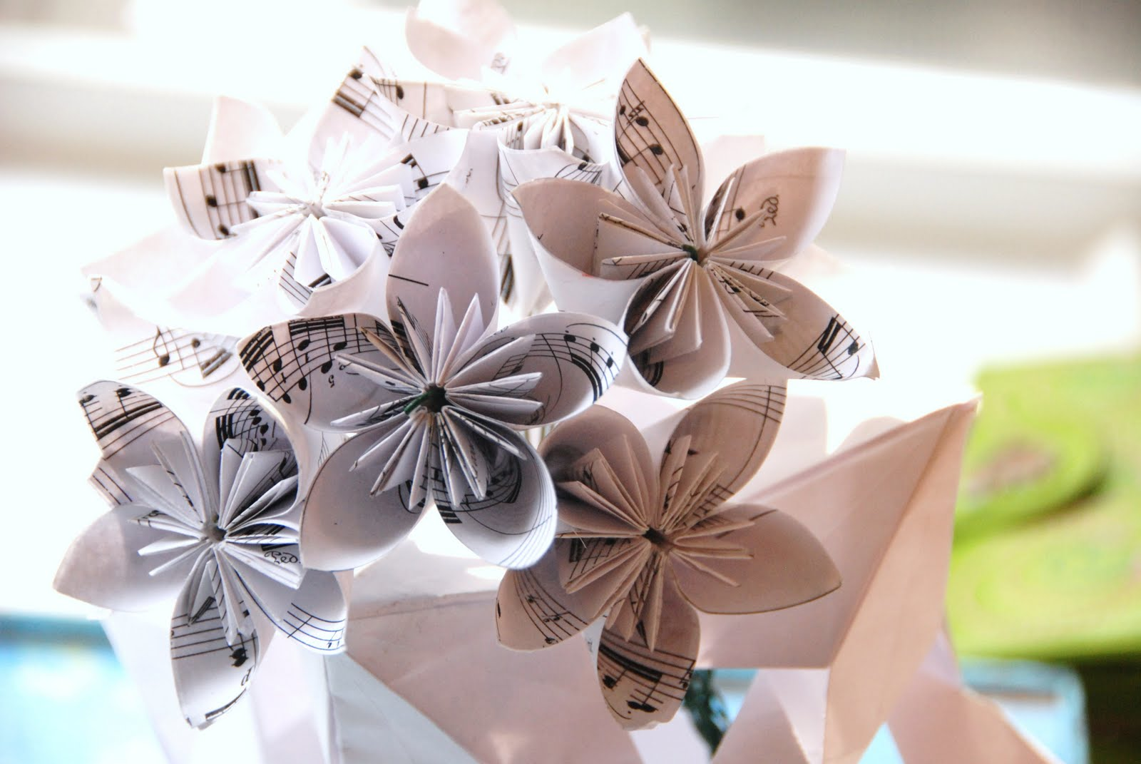 Everything Origami Origami Kusudama Bouquet