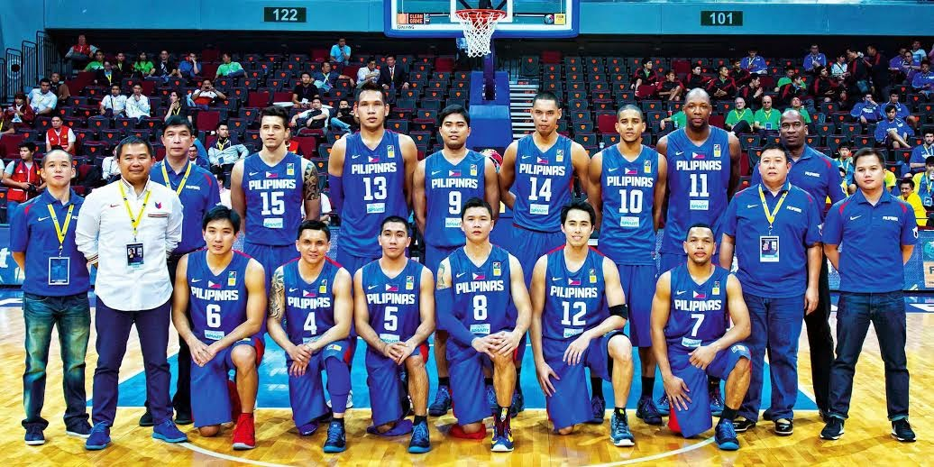 Philippines men's national basketball team Gilas Pilipinas