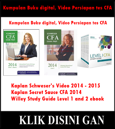Jual Buku digital, Video Tutorial persiapan tes CFA Murah