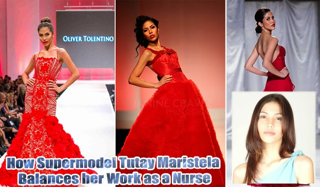 How Supermodel Tutay Maristela Balances her Work as a Nurse