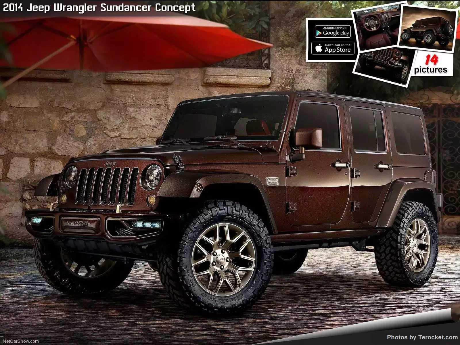 Hình ảnh xe ô tô Jeep Wrangler Sundancer Concept 2014 & nội ngoại thất