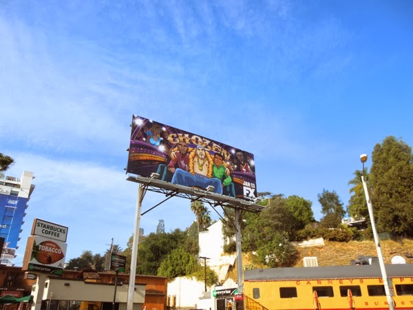Chozen season 1 billboard