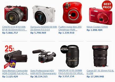 Berbagai Kamera di camera.co.id
