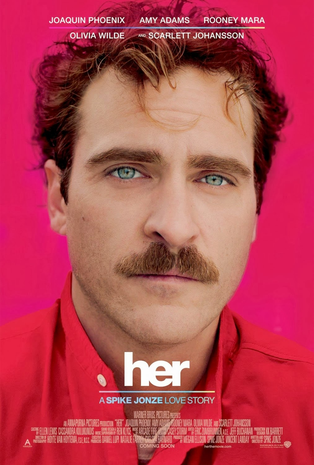 cartaz do filme Ela (2013) - Her (2013)