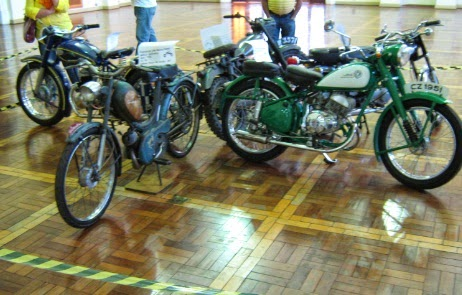 Motos antigas clássicas - Classic Old Motorcycles