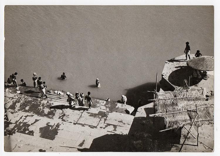 Ganges River in Varanasi - c1930's