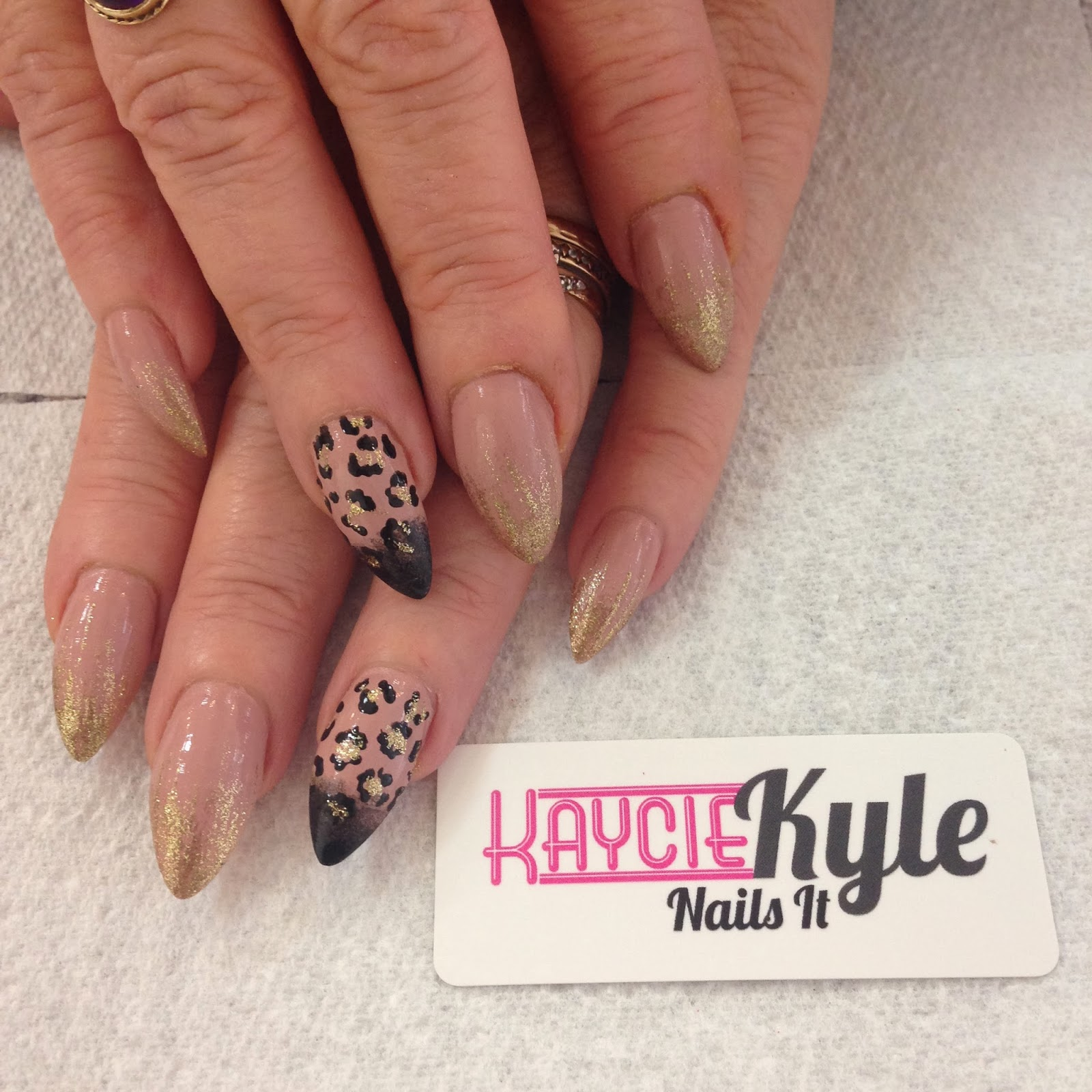 The Extraordinary Easy leopard print nail design Images