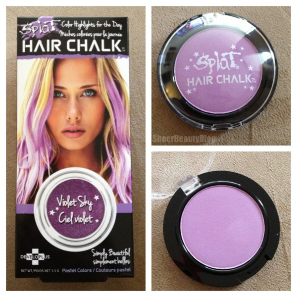 Sheer Beauty Splat Hair Chalk Review