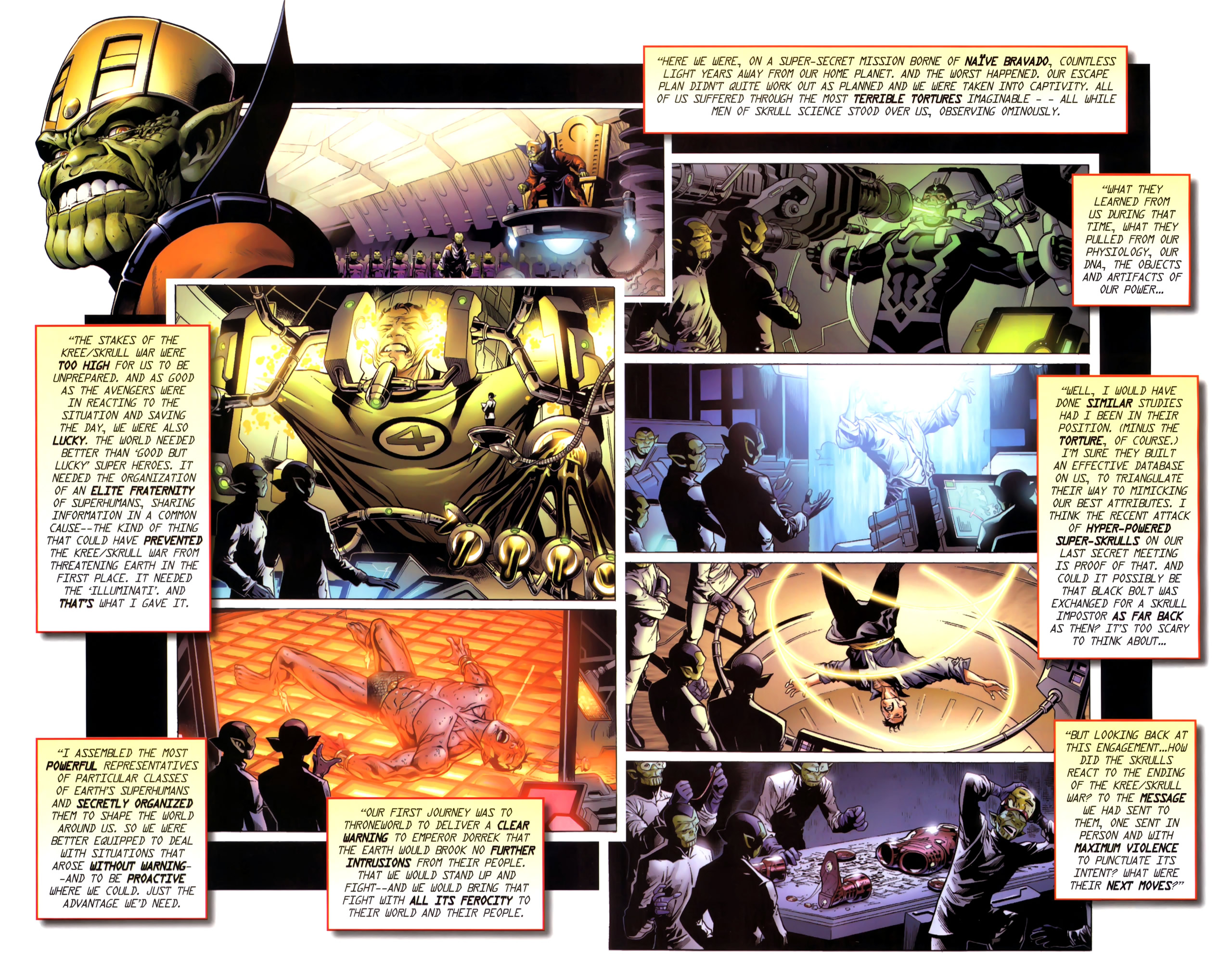Read online Secret Invasion: The Infiltration comic -  Issue #11 - 15