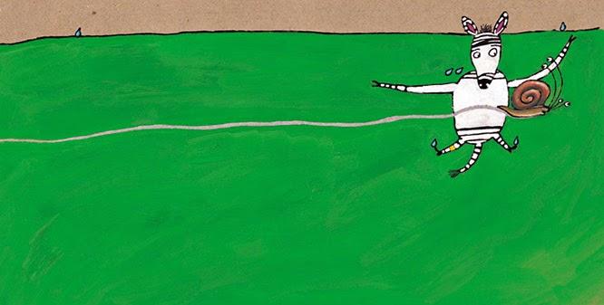 Ilustración La Cebra Camila, Marisa Núñez