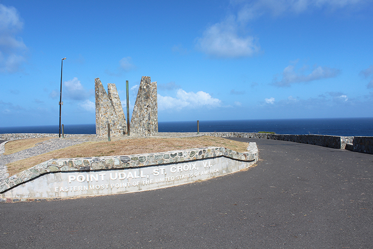 Point Udall, St. Croix