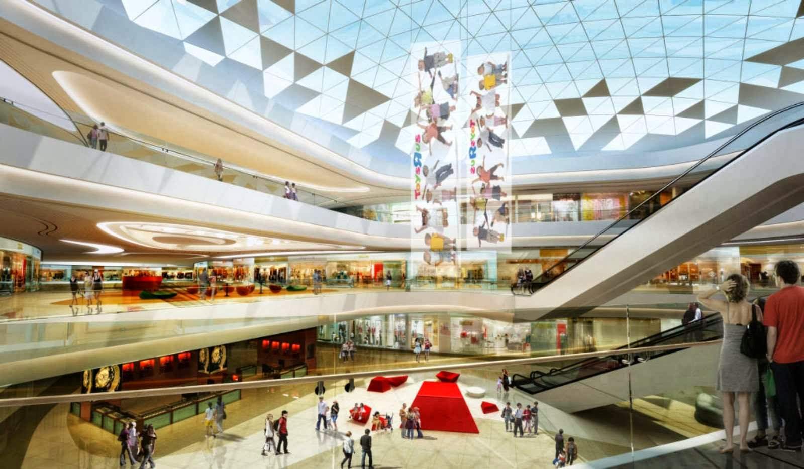 HAITANG BAY INTERNATIONAL SHOPPING CENTRE BY HASSELL | A AShassell town