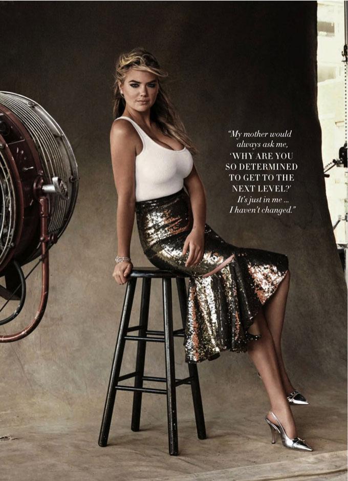 Kate Upton in Harper's Bazaar Australia