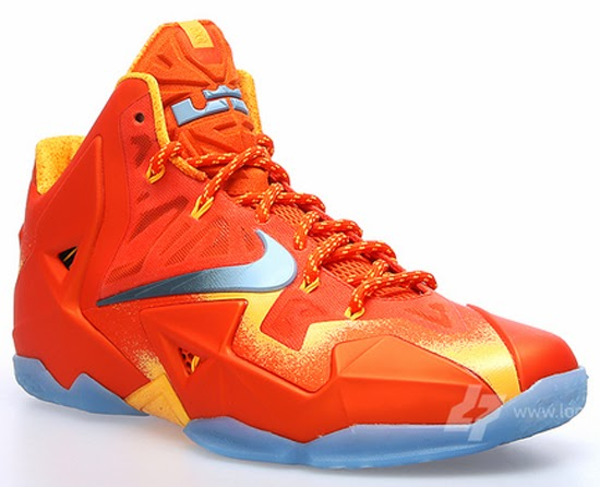 Nicknamed the \u0026quot;Forging Iron\u0026quot; edition, this Nike LeBron 11 comes in an atomic orange, metallic silver and team orange colorway. Featuring an all orange based ...