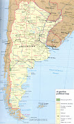 Mapa de Argentina Completo mapa argentina