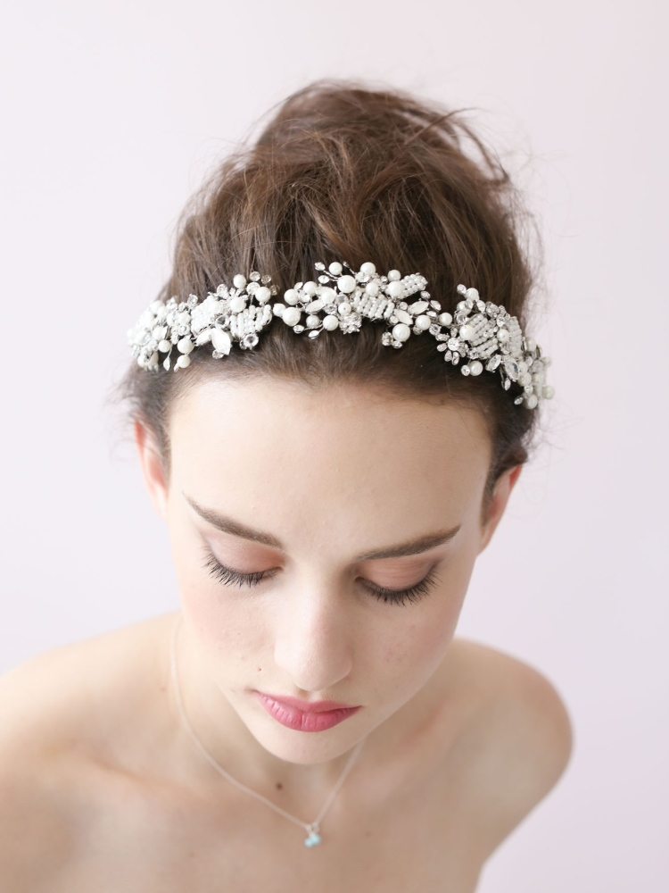 Wedding Hairstyles With Flowers and Tiara | Wedding Ideas