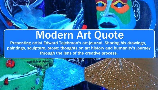 Modern Art Quote