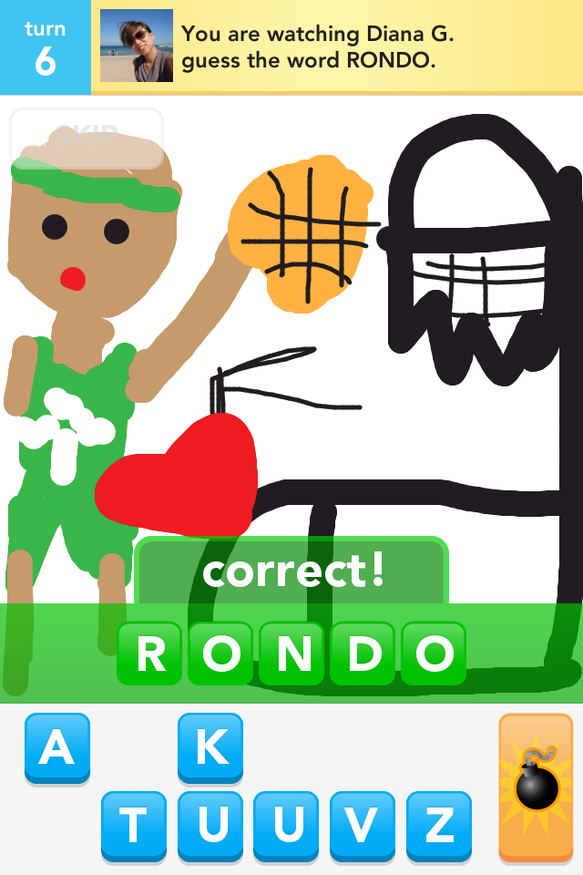 Griffin Draw Something Craze is Draw Something
