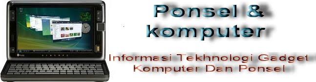 Ponsel komputer